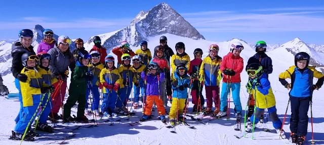 Saisonabschluss unserer Ski Club Kids & Trainer auf den Tuxer Gletscher